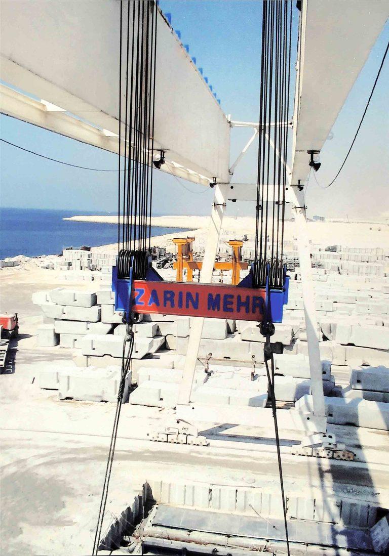 رافعة قنطرية متحركة ۲۶۰ طن