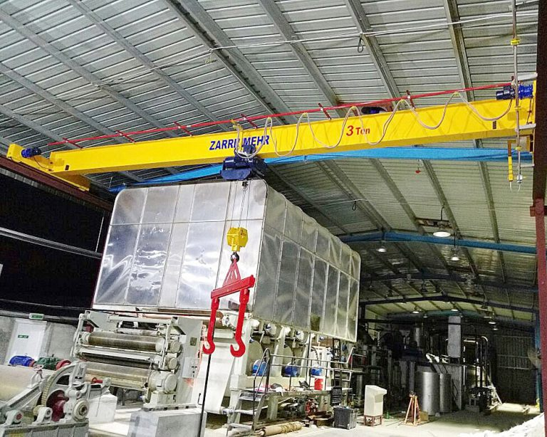 Oman 3 ton overhead crane